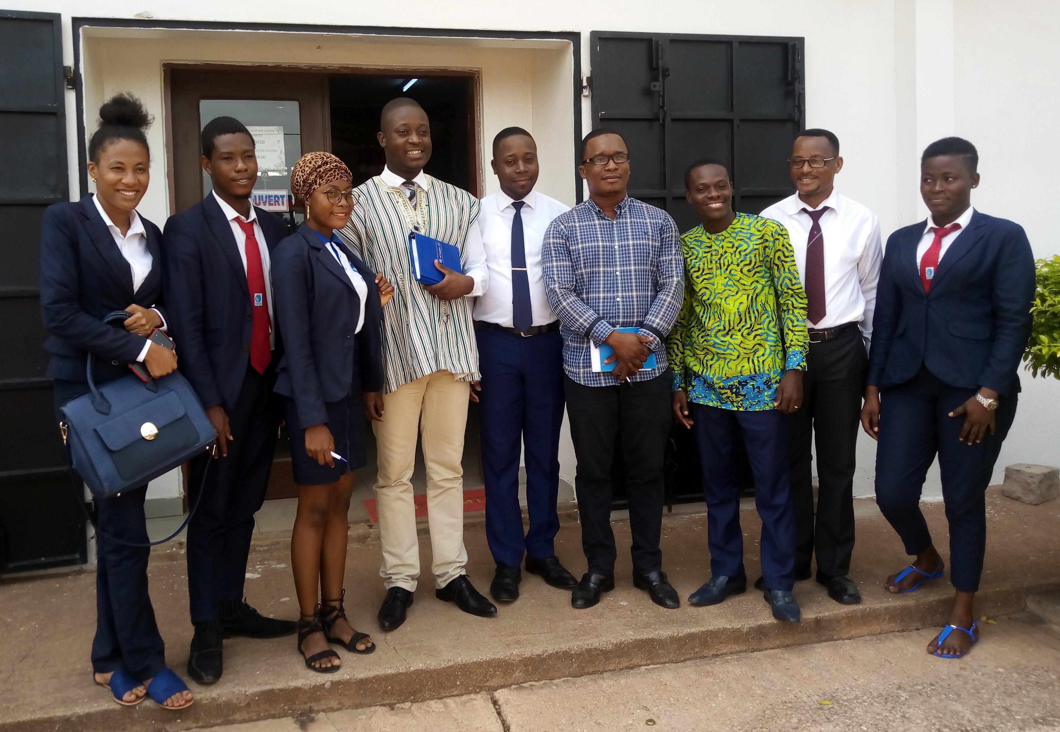 FIMAC en visite d'entreprise à S.E NUTRI-TOGO SARL